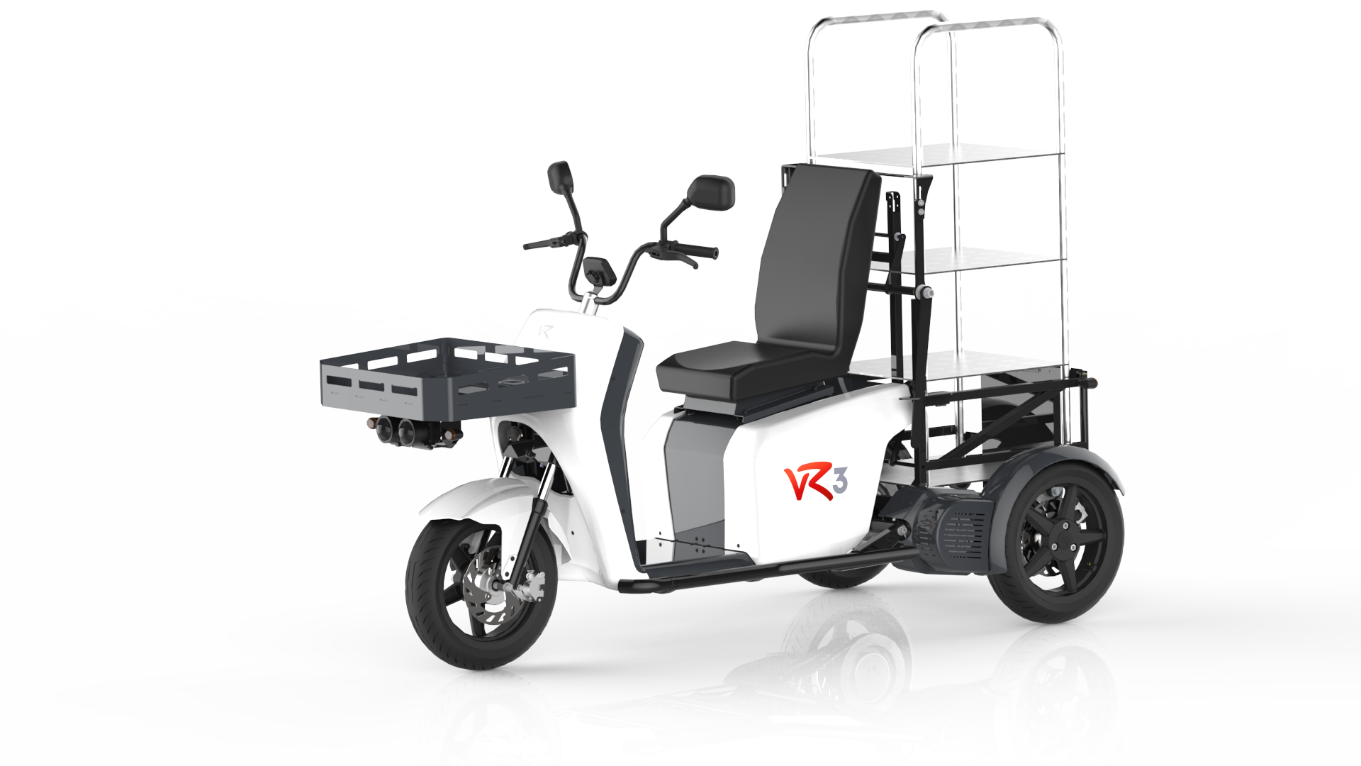 The vR3 electric tricycle as an internal transport vehicle for hospitals