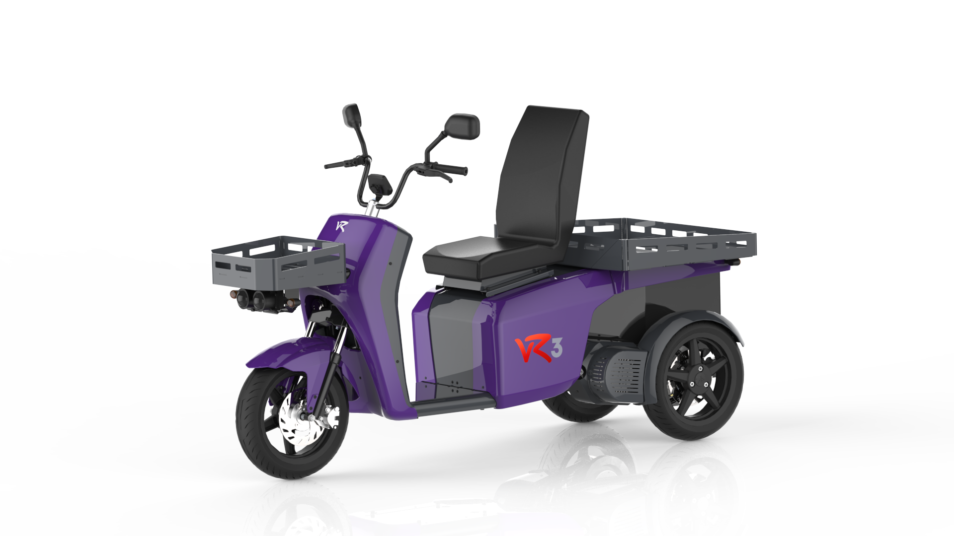 The vR3 electric tricycle as an intra-company transport vehicle for all types of lightweight transportation