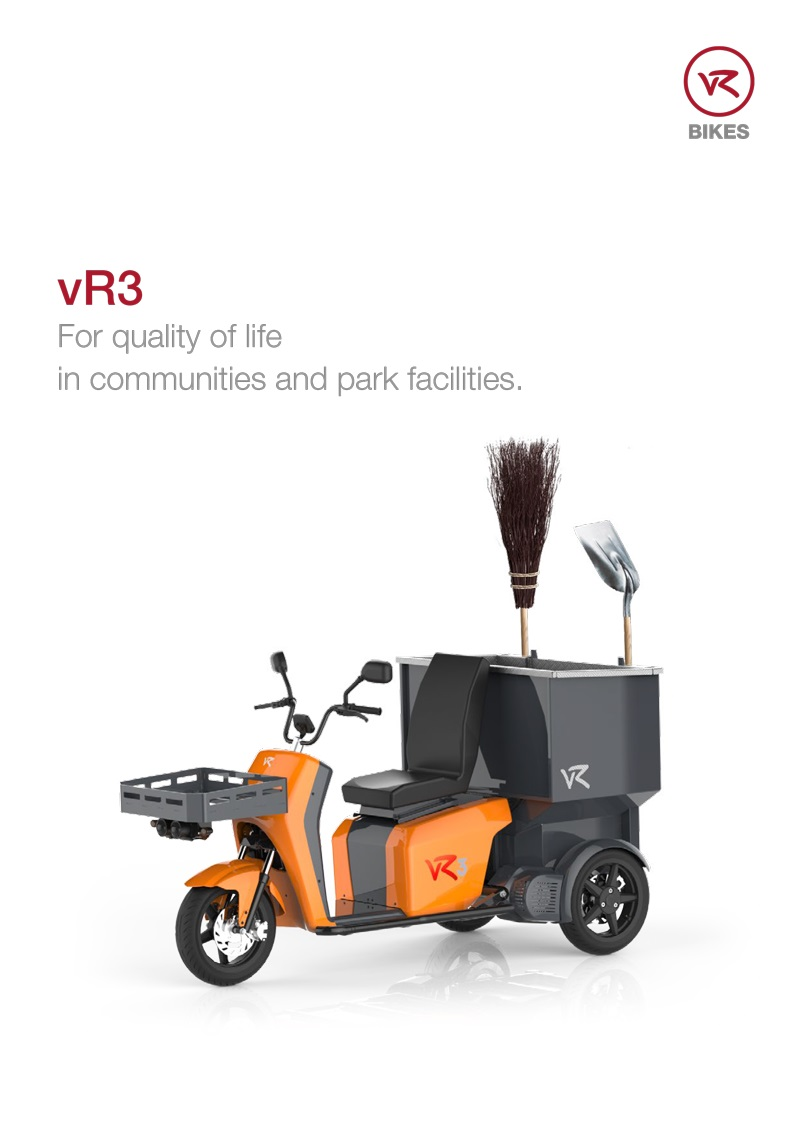 Download brochure vR3 - municipal vehicle as a PDF