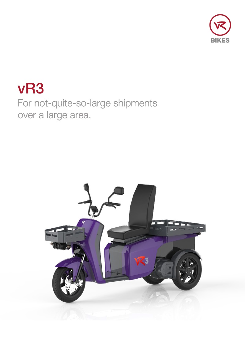 Download brochure vR3 - transport vehicle as a PDF